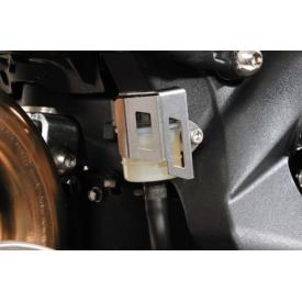 CLOSEOUT - Rear brake fluid reservoir cover, Triumph Street Triple 675 (Was $39) Product Thumbnail
