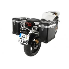 Pannier System - ZegaPro Anodized Black 31L, Triumph Street Triple (up to 2012) Product Thumbnail