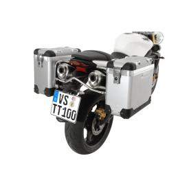 Pannier System - ZegaPro Anodized Silver 31L, Triumph Street Triple (up to 2012) Product Thumbnail