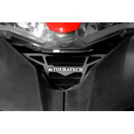Oil Cooler Guard, Anodized Black, Ducati Multistrada 1200 (2010-2014) Product Thumbnail