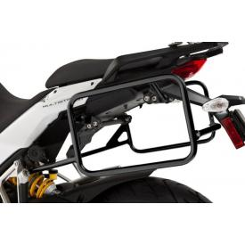 Pannier Rack, Black Stainless, Ducati Multistrada 1200 (2010-2014) Product Thumbnail