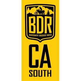 CABDR-S Pannier Decal, California Backcountry Discovery Route - South Product Thumbnail