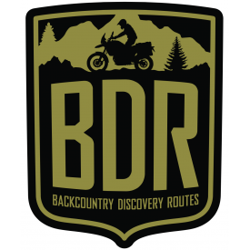 Backcountry Discovery Routes BDR Decal Product Thumbnail