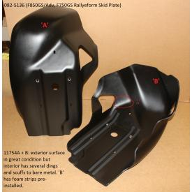 Scratch & Dent - Touratech RallyeForm Skid Plate, Black, BMW F850GS / ADV, F750GS, 082-5136, Was $399.95 Product Thumbnail