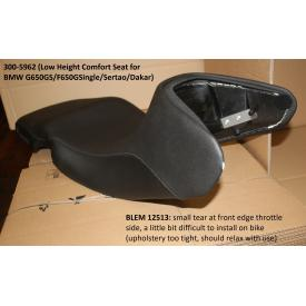 Scratch & Dent - Touratech Comfort Seats, BMW G650GS, F650GS (single), Sertao & Dakar, 300-5962, Was $579.95 Product Thumbnail
