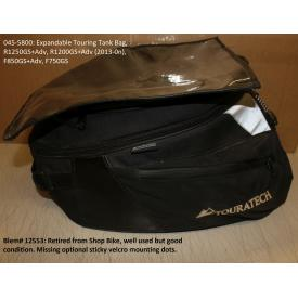 Scratch & Dent - Expandable Touring Tank Bag, BMW R1250GS / ADV / R1200GS / ADV, '13-on, F850GS/ ADV / F750GS, 045-5800, Was $349.95 Product Thumbnail