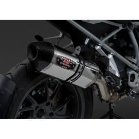 Yoshimura R-77 Slip-On Exhaust, Stainless Steel w/ Carbon Cap, BMW R1200GS / ADV 2013-2016 Product Thumbnail