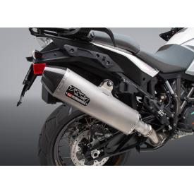 Yoshimura RS-4 Slip-on Exhaust, Stainless Steel w/ Carbon Cap,KTM 1090/1190 Adventure / R, 1290 Super Adventure Product Thumbnail