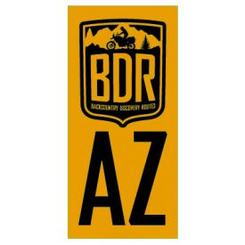 AZBDR Pannier Decal, Arizona Backcountry Discovery Route Product Thumbnail