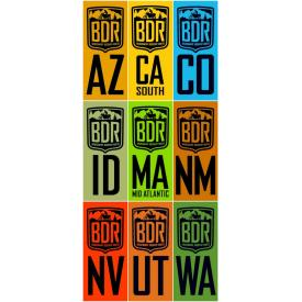BDR Pannier Decals - Stickers Product Thumbnail