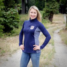 Closeout! - Backcountry Discovery Routes (BDR) Women's Half-Zip Mid-Layer Pull-Over (Was $60) Product Thumbnail