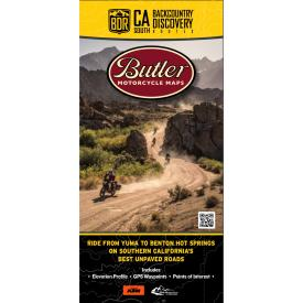 Butler Motorcycle Maps - California Backcountry Discovery Route South (CABDR-S) Product Thumbnail