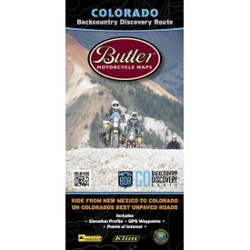 Butler Motorcycle Maps - Colorado Backcountry Discovery Route (COBDR) Product Thumbnail