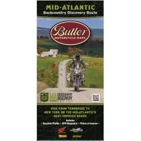 Butler Motorcycle Maps - Mid-Atlantic Backcountry Discovery Route (MABDR) Product Thumbnail
