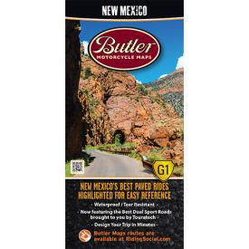 Butler Motorcycle Maps - New Mexico Product Thumbnail