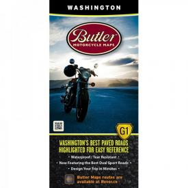 Butler Motorcycle Maps- Washington Product Thumbnail