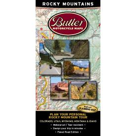 Butler Motorcycle Maps - 5 State Package + Planning Map Product Thumbnail