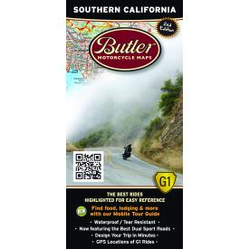 Butler Motorcycle Maps - Southern California Product Thumbnail