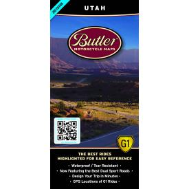 Butler Motorcycle Maps - Utah Product Thumbnail