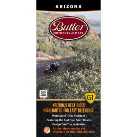 Butler Motorcycle Maps - Arizona Product Thumbnail