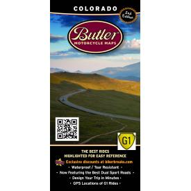 Butler Motorcycle Maps - Colorado Product Thumbnail