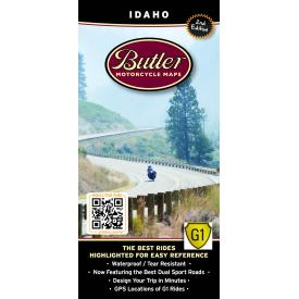 Butler Motorcycle Maps - Idaho Product Thumbnail