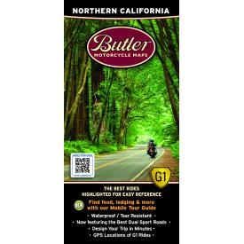 Butler Motorcycle Maps - Northern California Product Thumbnail