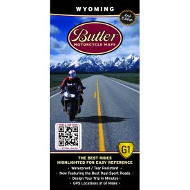 Butler Motorcycle Maps - Wyoming Product Thumbnail