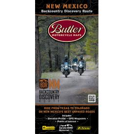 Butler Motorcycle Maps - New Mexico Backcountry Discovery Route (NMBDR) Product Thumbnail