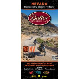 Butler Motorcycle Maps - Nevada Backcountry Discovery Route (NVBDR) Product Thumbnail
