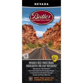 Butler Motorcycle Maps - Nevada Product Thumbnail