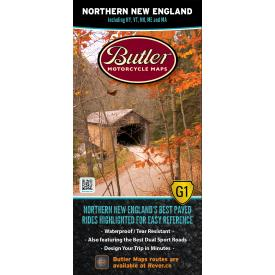 Butler Motorcycle Maps - Northern New England Product Thumbnail