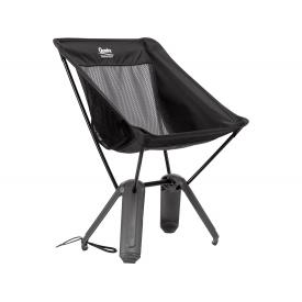Therm-a-Rest Quadra Chair, Compact Travel Chair, Black Mesh Product Thumbnail
