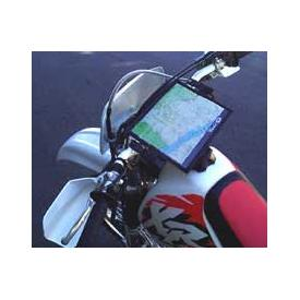 Crossbar Map Holder for Dual Sport, Enduro, and ADV motorcycles Product Thumbnail
