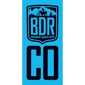 Colorado Backcountry Discovery Route COBDR Pannier Decal Product Thumbnail