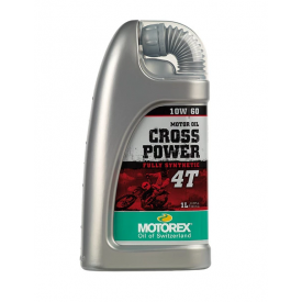 Motorex CROSS POWER 4T SAE 10W60 SYN Product Thumbnail