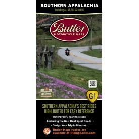 Butler Motorcycle Maps - Southern Appalachia Product Thumbnail