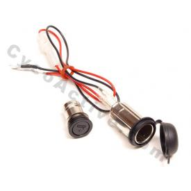 12v Cigarette Lighter Socket w/cap Product Thumbnail