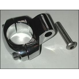 Chrome 1 Inch Handlebar Clamp Product Thumbnail