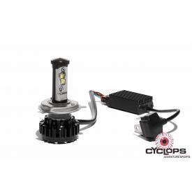 Cyclops H4 LED 7000 Lumen Headlight Conversion for Dirt Bikes w/ AC Power Product Thumbnail