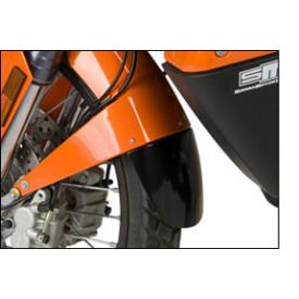 KTM 990 Adventure Front Fender Extender, Matte Black Product Thumbnail