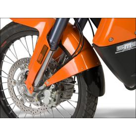 KTM 990 Adventure Front Fender Extender, Glossy Black Product Thumbnail