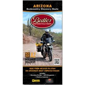 Butler Motorcycle Maps - Arizona Backcountry Discovery Route (AZBDR) Product Thumbnail