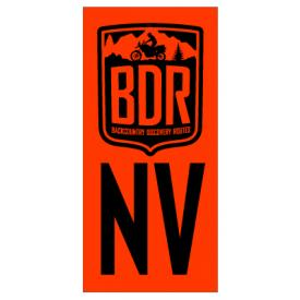 NVBDR Pannier Decal, Nevada Backcountry Discovery Route Product Thumbnail