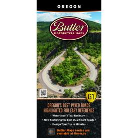 Butler Motorcycle Maps - Oregon Product Thumbnail