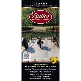Butler Motorcycle Maps - Ozarks Product Thumbnail