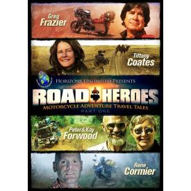 DVD- Road Heroes - Motorcycle Adventure Travel Tales, Part 1 Product Thumbnail