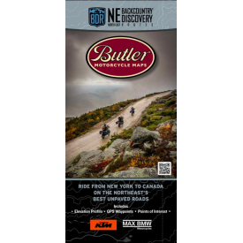 Butler Motorcycle Maps - Northeast Backcountry Discovery Route (NEBDR) Product Thumbnail