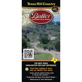Butler Motorcycle Maps - Texas Hill Country Product Thumbnail