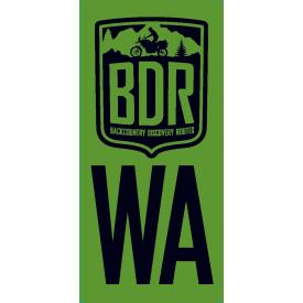 Washington Backcountry Discovery Route WABDR Pannier Decal Product Thumbnail